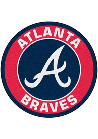 Atlanta Braves 27 Roundel Interior Rug