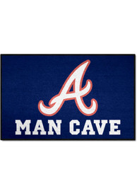 Atlanta Braves 19x30 Man Cave Starter Interior Rug