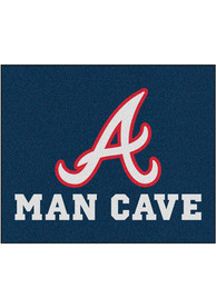 Atlanta Braves 60x71 Man Cave Tailgater Mat Other Tailgate