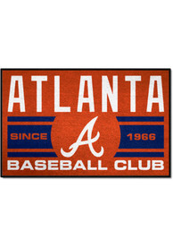 Atlanta Braves 19x30 Uniform Starter Interior Rug