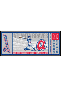 Atlanta Braves 30x72 Ticket Runner Interior Rug