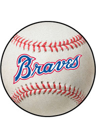Atlanta Braves 27 Baseball Interior Rug