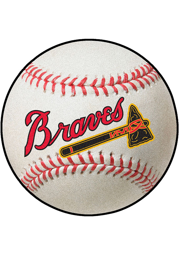 Atlanta Braves 27 Baseball Interior Rug - Image 1