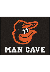 Baltimore Orioles 34x42 Man Cave All Star Interior Rug