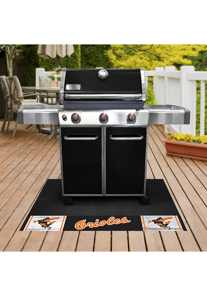 Baltimore Orioles 26x42 BBQ Grill Mat - Image 2
