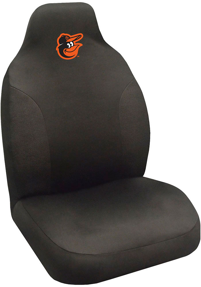 Sports Licensing Solutions Baltimore Orioles Team Logo Car Seat Cover - Black - Image 1