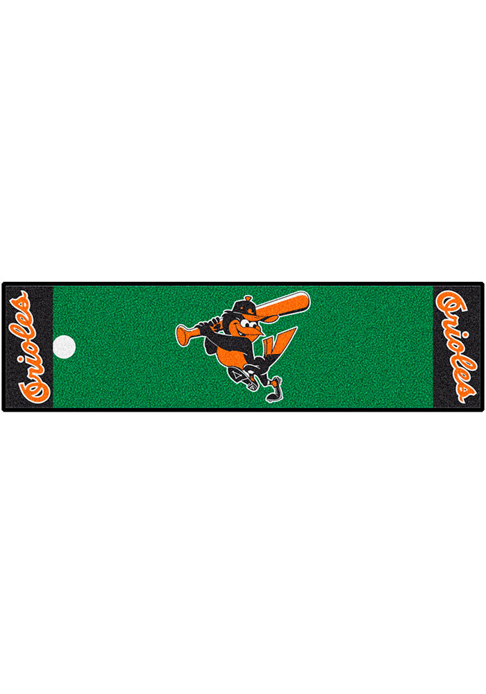 Baltimore Orioles 18x72 Putting Green Runner Interior Rug - Image 1