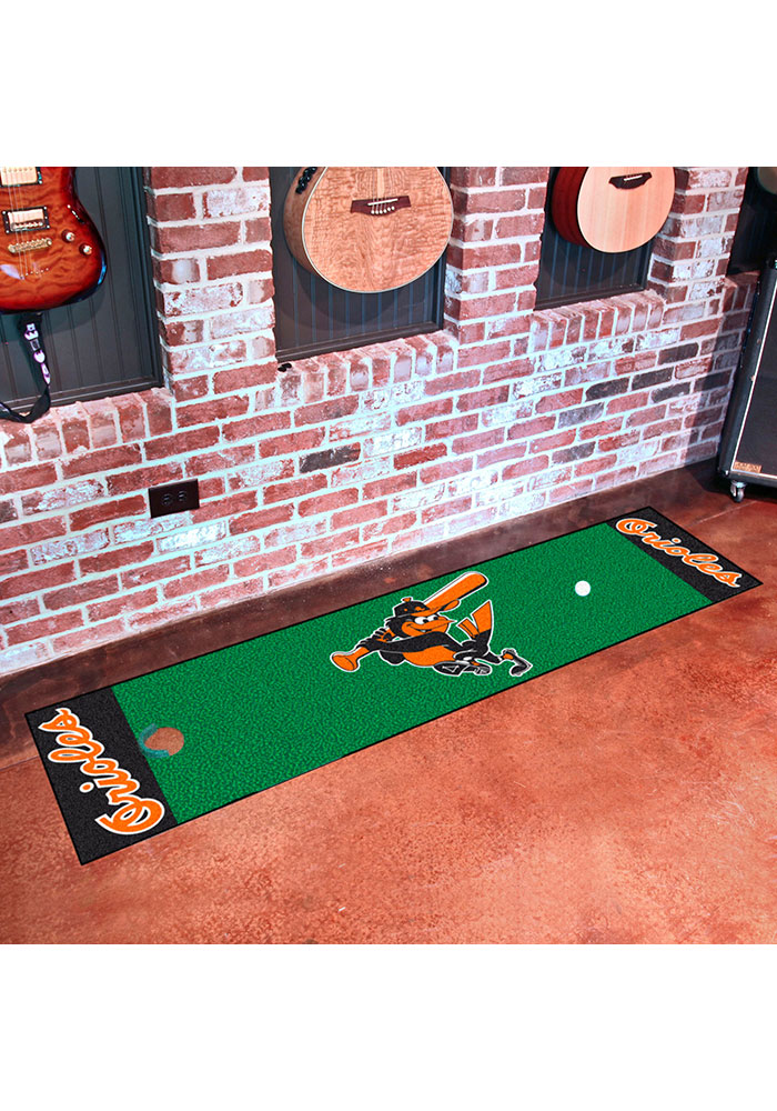 Baltimore Orioles 18x72 Putting Green Runner Interior Rug - Image 2