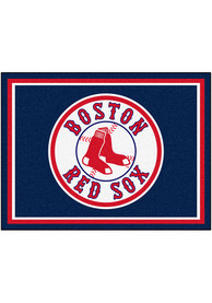 Boston Red Sox 8x10 Plush Interior Rug