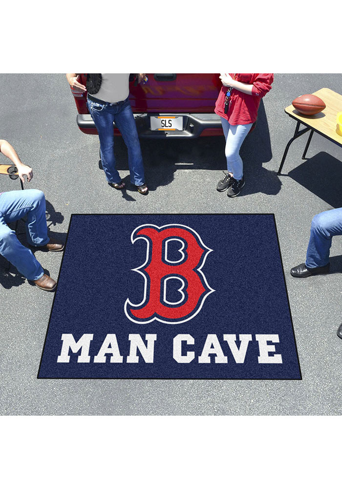 Boston Red Sox 60x71 Man Cave Tailgater Mat Other Tailgate - Image 2