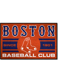 Boston Red Sox 19x30 Uniform Starter Interior Rug