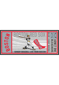 Boston Red Sox 30x72 Ticket Runner Interior Rug