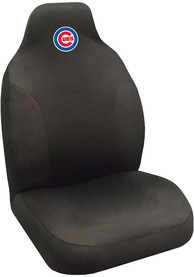 Sports Licensing Solutions Chicago Cubs Team Logo Car Seat Cover - Black