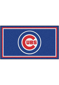 Chicago Cubs 3x5 Plush Interior Rug