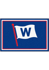 Chicago Cubs 5x8 Plush Interior Rug