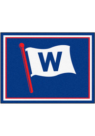 Chicago Cubs 8x10 Plush Interior Rug