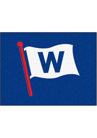 Chicago Cubs 34x42 Starter Interior Rug