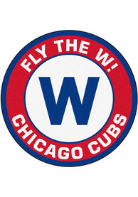 Chicago Cubs 27 Roundel Interior Rug