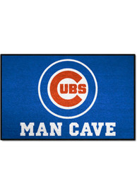 Chicago Cubs 19x30 Man Cave Starter Interior Rug