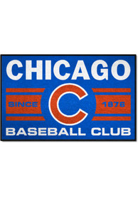 Chicago Cubs 19x30 Uniform Starter Interior Rug