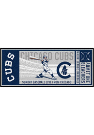 Chicago Cubs 30x72 Ticket Runner Interior Rug