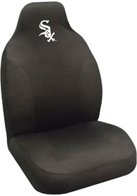 Sports Licensing Solutions Chicago White Sox Team Logo Car Seat Cover - Black