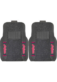 Sports Licensing Solutions Cleveland Indians 20x27 Deluxe Car Mat - Black