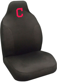 Sports Licensing Solutions Cleveland Indians Team Logo Car Seat Cover - Black
