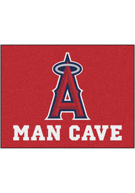 Los Angeles Angels 34x42 Man Cave All Star Interior Rug