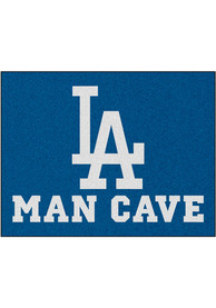 Los Angeles Dodgers 34x42 Man Cave All Star Interior Rug