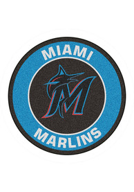 Miami Marlins 27 Roundel Interior Rug