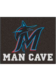 Miami Marlins 60x71 Man Cave Tailgater Mat Other Tailgate