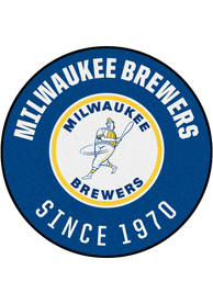 Milwaukee Brewers 27 Roundel Interior Rug