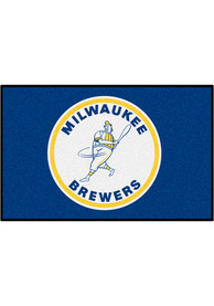 Milwaukee Brewers 19x30 Starter Interior Rug