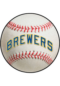 Milwaukee Brewers 27 Baseball Interior Rug