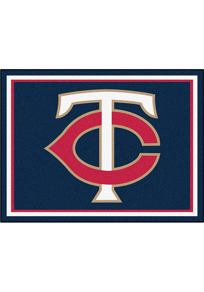 Minnesota Twins 8x10 Plush Interior Rug - Image 1