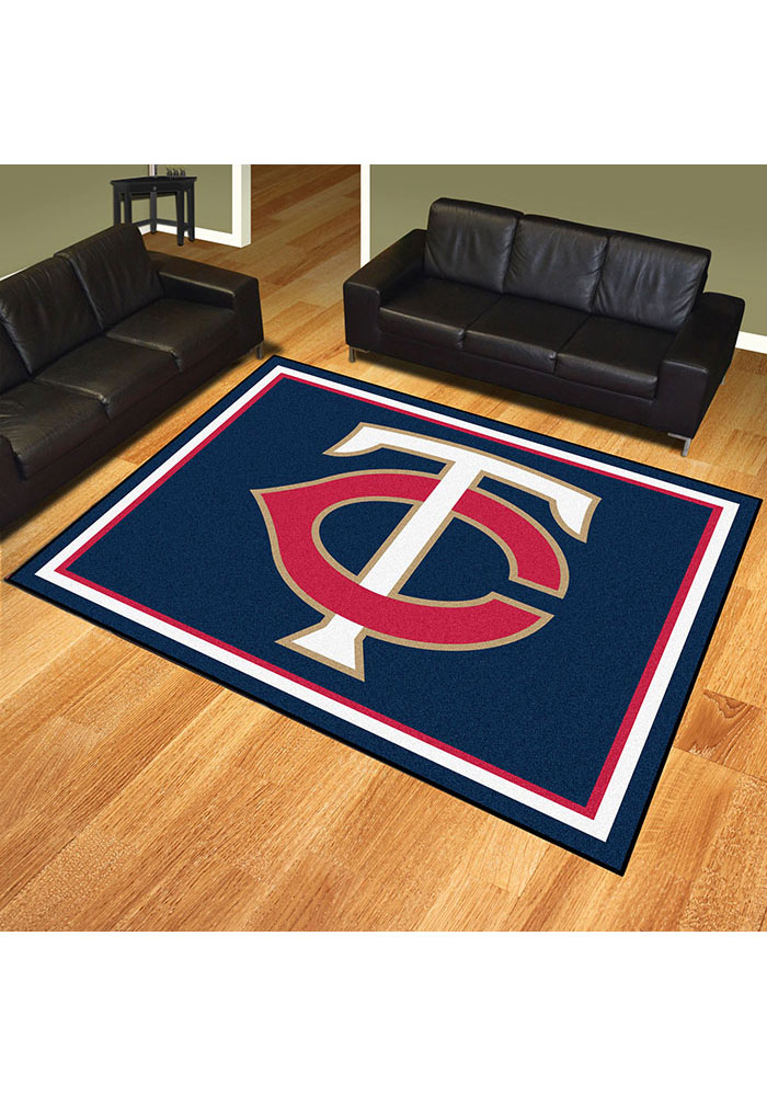 Minnesota Twins 8x10 Plush Interior Rug - Image 2