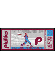 Philadelphia Phillies 30x72 Ticket Runner Interior Rug