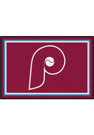 Philadelphia Phillies 4x6 Plush Interior Rug