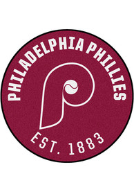 Philadelphia Phillies 27 Roundel Interior Rug
