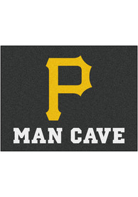 Pittsburgh Pirates 34x42 Man Cave All Star Interior Rug