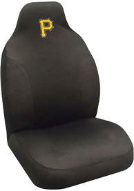 Sports Licensing Solutions Pittsburgh Pirates Team Logo Car Seat Cover - Black
