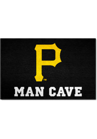 Pittsburgh Pirates 19x30 Man Cave Starter Interior Rug