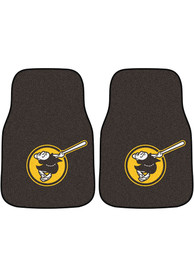 Sports Licensing Solutions San Diego Padres 2-Piece Carpet Car Mat - Brown
