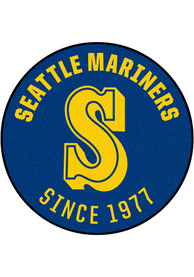 Seattle Mariners 27 Roundel Interior Rug
