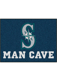 Seattle Mariners 34x42 Man Cave All Star Interior Rug