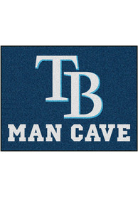Tampa Bay Rays 34x42 Man Cave All Star Interior Rug