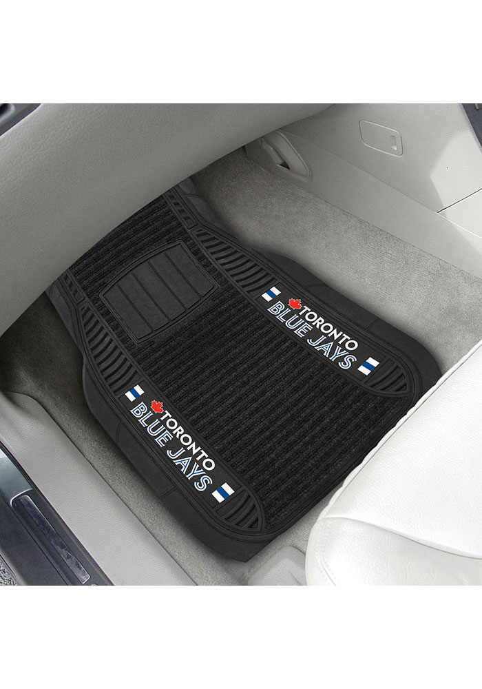 Sports Licensing Solutions Toronto Blue Jays 20x27 Deluxe Car Mat - Black - Image 2