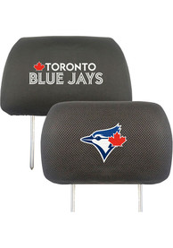 Sports Licensing Solutions Toronto Blue Jays 10x13 Auto Head Rest Cover - Black
