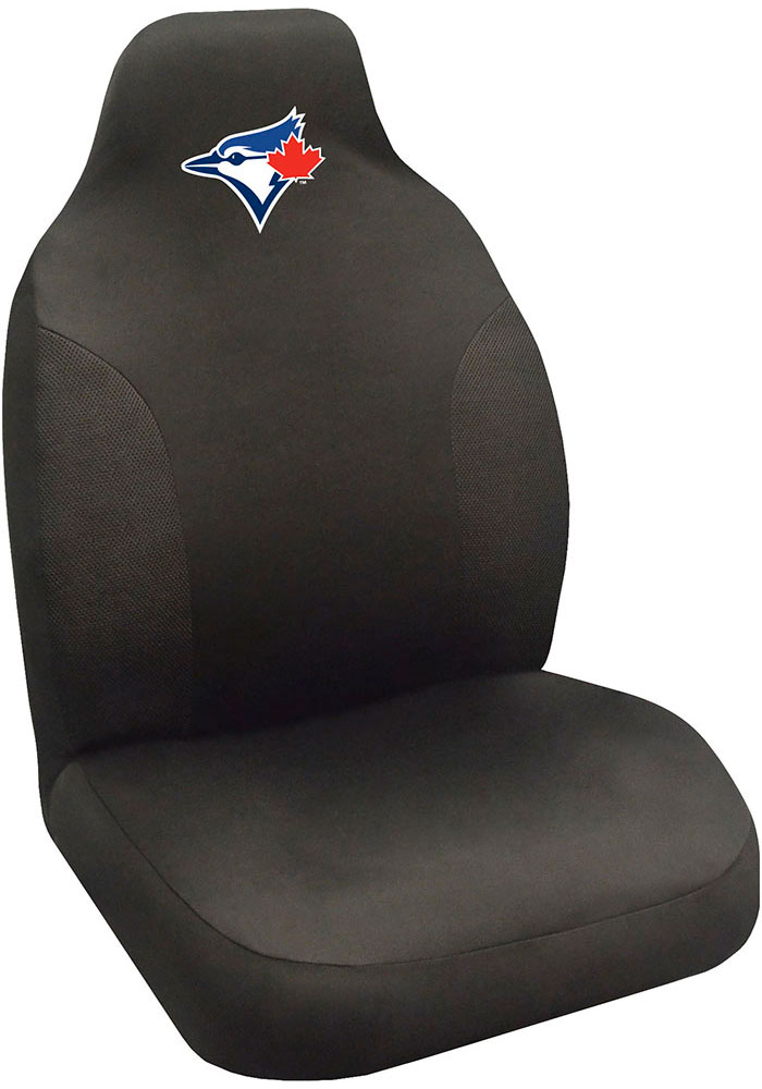 Sports Licensing Solutions Toronto Blue Jays Team Logo Car Seat Cover - Black - Image 1